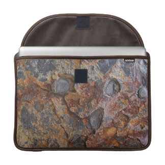 Geology Texture Sedementary Rock MacBook Pro Sleeve