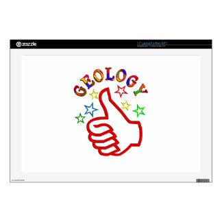 """Geology Thumbs Up Skin For 17"""" Laptop"""