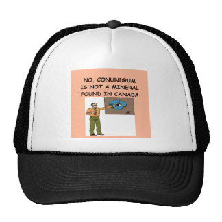 geology trucker hat