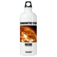 Geomagnetic Storm Inside (Solar Flare Sun) SIGG Traveler 1.0L Water Bottle