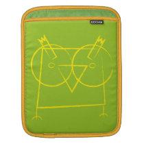 Geomertic Owl iPad Sleeve