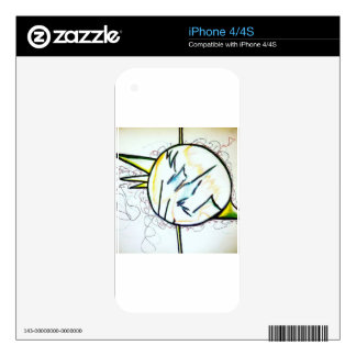 Geometer's Storm by Luminosity Decal For iPhone 4