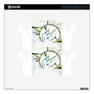 Geometer's Storm by Luminosity Decal For PS3 Controller