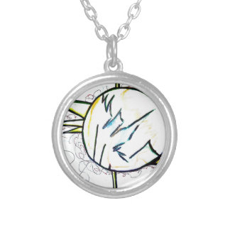 Geometer's Storm by Luminosity Silver Plated Necklace
