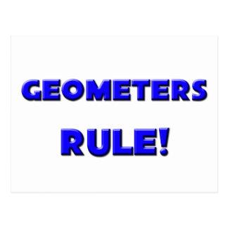 Geometers Rule! Postcard