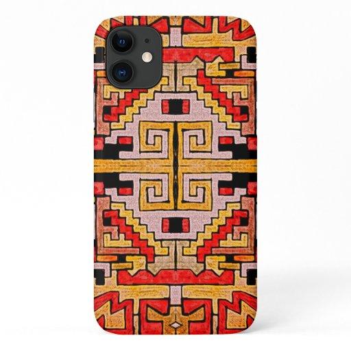 Geomethric Tribal/Ethnic Pattern iPhone 11 Case