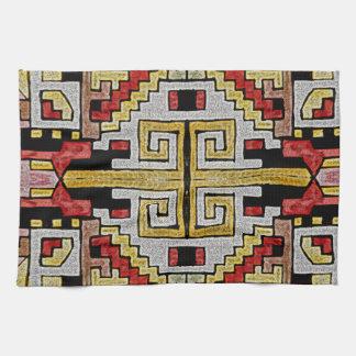 Geomethric Tribal/Ethnic Pattern Hand Towel