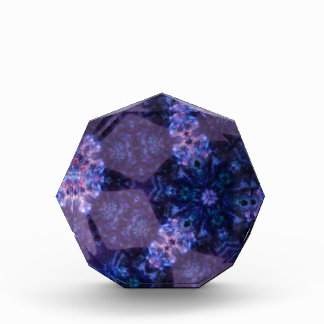 Geometirc Floral Design Acrylic Award