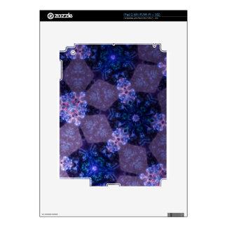 Geometirc Floral Design iPad 2 Decals