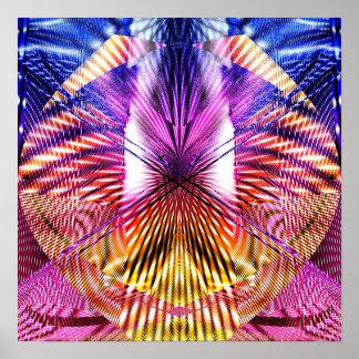 Geometría abstracta 1.2d poster