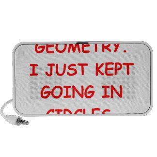 geometría iPod altavoz