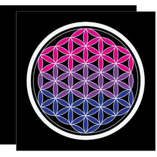 """geometría biSacred Invitación 5.25"""" X 5.25"""""""