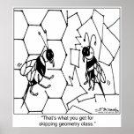 Geometría de la abeja impresiones