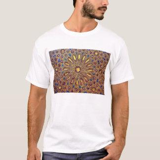 geometría de la decoración del Islam del mosaico Playera