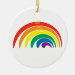 Geometría del arco iris adorno de reyes