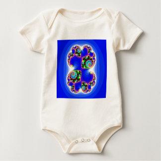 Geometría determinada determinada del fractal de mamelucos de bebé