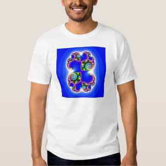Geometría determinada determinada del fractal de remeras
