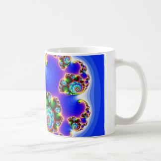 Geometría determinada determinada del fractal de taza