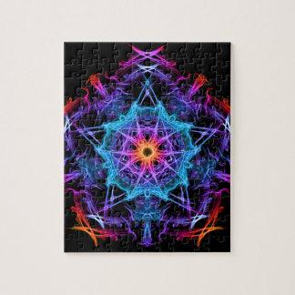 Geometría enérgica - el deseo de unos de los reyes puzzles con fotos