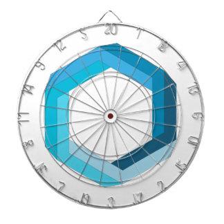 Geometría imposible: Hexágono azul