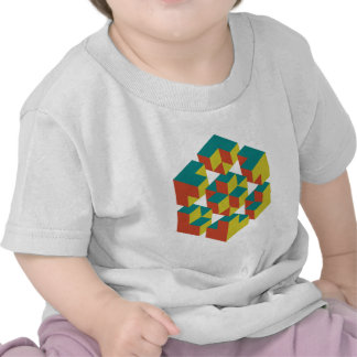 Geometría imposible t-shirts
