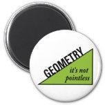 Geometría insustancial imán de nevera