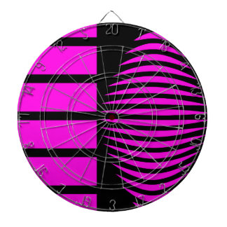 Geometría mística del negro y del rosa