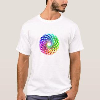 Geometría sagrada - camiseta del toroide del arco
