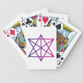 Geometría sagrada baraja de cartas