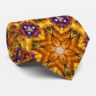 Geometría sagrada de la bella arte de la mandala corbatas