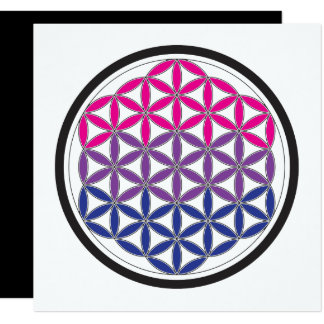 """geometría sagrada del BI Invitación 5.25"""" X 5.25"""""""