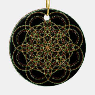 Geometría sagrada - mano dibujada ornamentos para reyes magos