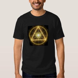 Geometría sagrada - Metatron que brilla Poleras