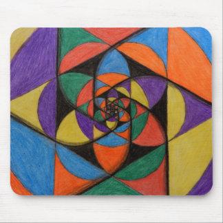 Geometría sagrada Mousepad Tapetes De Ratones