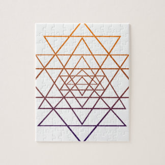 Geometría sagrada rompecabeza