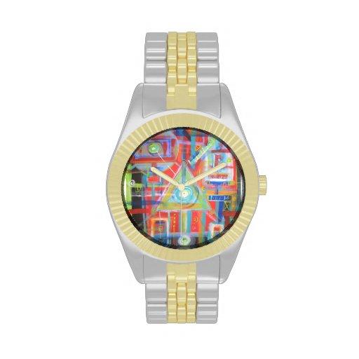 Geometría sagrada reloj de mano