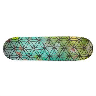 Geometría sagrada tabla de skate