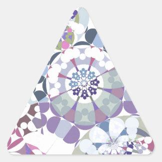 Geometrías de Superflat (iv) Pegatina Triangular