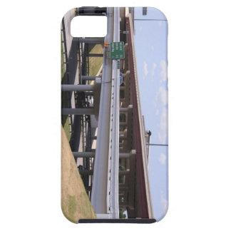 Geometrías urbanas - caso de Iphone del paso super iPhone 5 Cárcasas