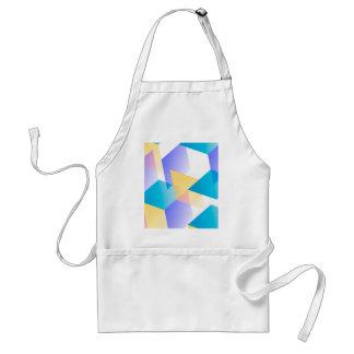 Geometric 03 blue aprons