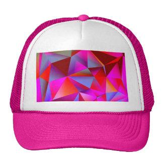 Geometric 05 hot trucker hats
