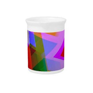 geometric 06 pink pitchers