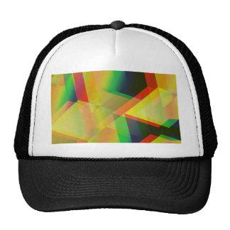 Geometric 06 yellow hat