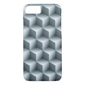 Geometric 3D Cubes iPhone 8/7 Case