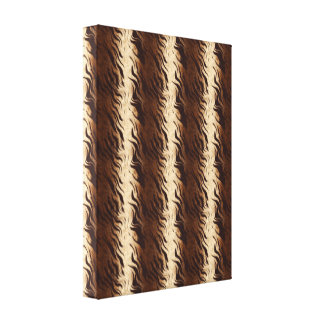 Geometric Abstract  Animal Wrapped Canvas