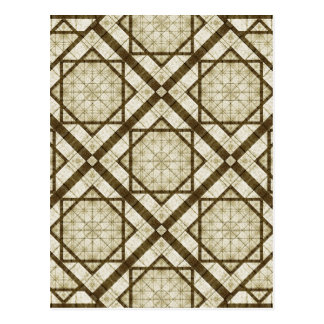 Geometric Abstract Background Postcard