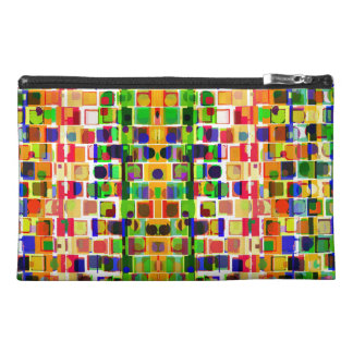 Geometric Abstract Travel Accessory Bag