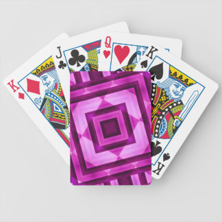 Geometric Abstract Bicycle® Playing Cards