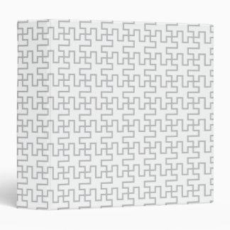 Geometric Abstract Floor Design Binder