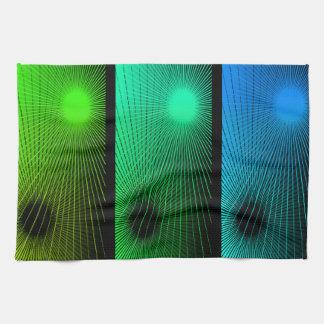Geometric abstract. hand towel